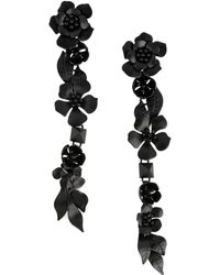 Valentino - Floral Earrings - Lyst