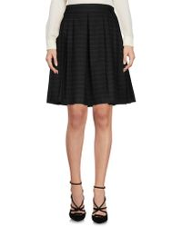 Armani Jeans - Knee Length Skirt - Lyst