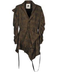 Aganovich - Overcoat - Lyst