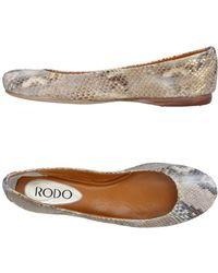 Rodo - Ballet Flats - Lyst