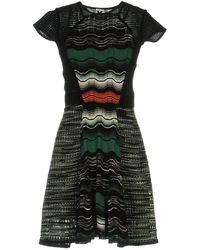 M Missoni - Short Dress - Lyst