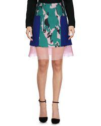 Capara - Knee Length Skirt - Lyst