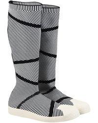 adidas Originals - 'superstar Primeknit' High Boots - Lyst