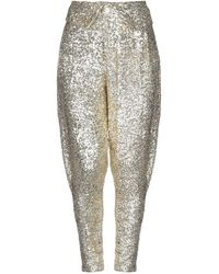 Acheval Pampa Casual Trouser - Metallic