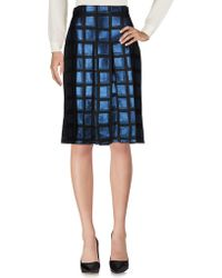 0edf3fc064 KENZO - Knee Length Skirt - Lyst