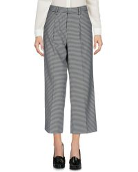 Stefanel - 3/4-length Trousers - Lyst