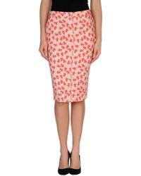 Normaluisa - Knee Length Skirt - Lyst