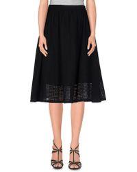 YMC - Knee Length Skirts - Lyst
