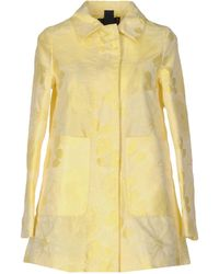 Femme By Michele Rossi - Overcoat - Lyst