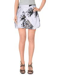 Mariagrazia Panizzi - Mini Skirt - Lyst