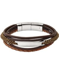 Fossil   Bracelet   Lyst