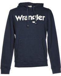 Wrangler - Logo Popover Hoodie Sweatshirt - Lyst
