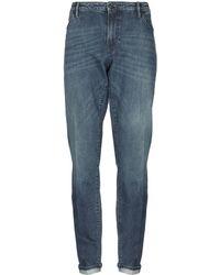 Pt05 Denim Pants - Blue