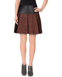 Kristina Ti - Mini Skirt - Lyst