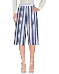 Caractere - 3/4-length Trousers - Lyst