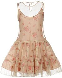 RED Valentino | Short Dress | Lyst