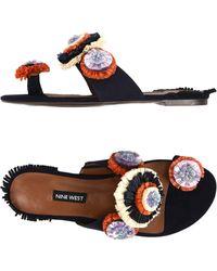 Nine West - Toe Post Sandal - Lyst