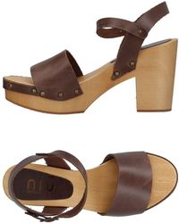 Niu - Sandals - Lyst