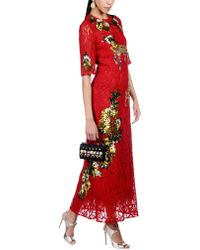 Dolce & Gabbana - Long Dress - Lyst