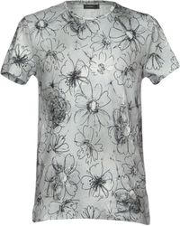 Jil Sander - Printed Cotton T-shirt - Lyst