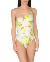 GUILLERMINA BAEZA - One-piece Swimsuit - Lyst