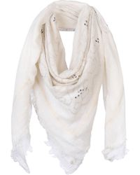 Scee By Twin-set - Square Scarf - Lyst