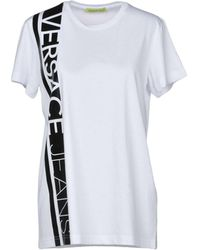 74885be5 Women's Versace Jeans T-shirts On Sale - Lyst