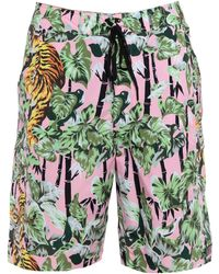 KENZO - Beach Shorts And Pants - Lyst