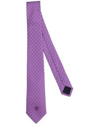 Versace Cravate - Violet