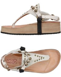 A.s.98 - Toe Post Sandal - Lyst