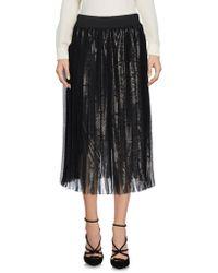 Annie P - 3/4 Length Skirts - Lyst