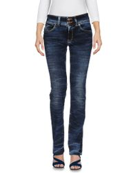 Nolita - Denim Trousers - Lyst