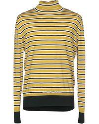 Marni - Striped Wool Knit Jumper - Lyst