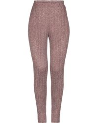 Pleats Please Issey Miyake - Casual Trousers - Lyst