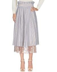 Mariagrazia Panizzi - 3/4 Length Skirts - Lyst