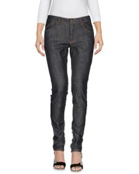 Trust Toilette - Denim Trousers - Lyst