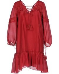 10 Crosby Derek Lam - Short Dress - Lyst