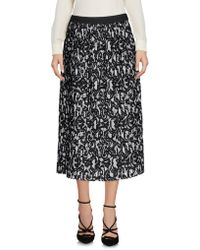 Roberto Collina - Printed Pleated Skirt - Lyst