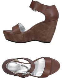 Hogan Sandals - Brown