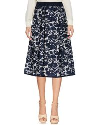 I'm Isola Marras - Floral Print Skirt - Lyst