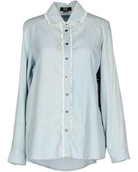 Goldie London - Denim Shirt - Lyst