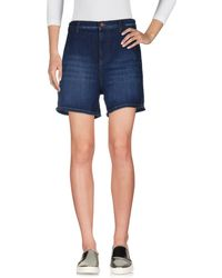 French Connection - Denim Shorts - Lyst