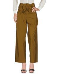 Erika Cavallini Semi Couture | Casual Trouser | Lyst