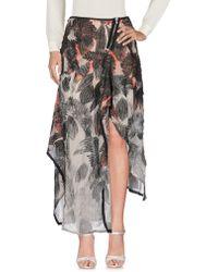Alessandra Marchi - Long Skirt - Lyst