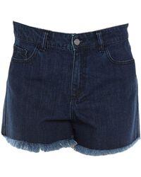 Amen - Denim Shorts - Lyst
