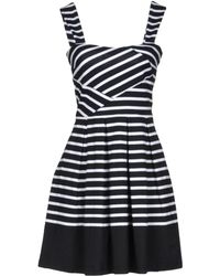 Band of Outsiders - Short Dress - Lyst