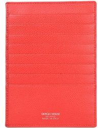Giorgio Armani - Document Holder - Lyst