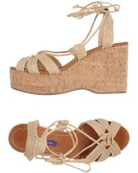 Ralph Lauren Collection - Sandals - Lyst