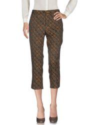 Soallure - 3/4-length Trousers - Lyst
