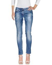 Ean 13 - Denim Trousers - Lyst